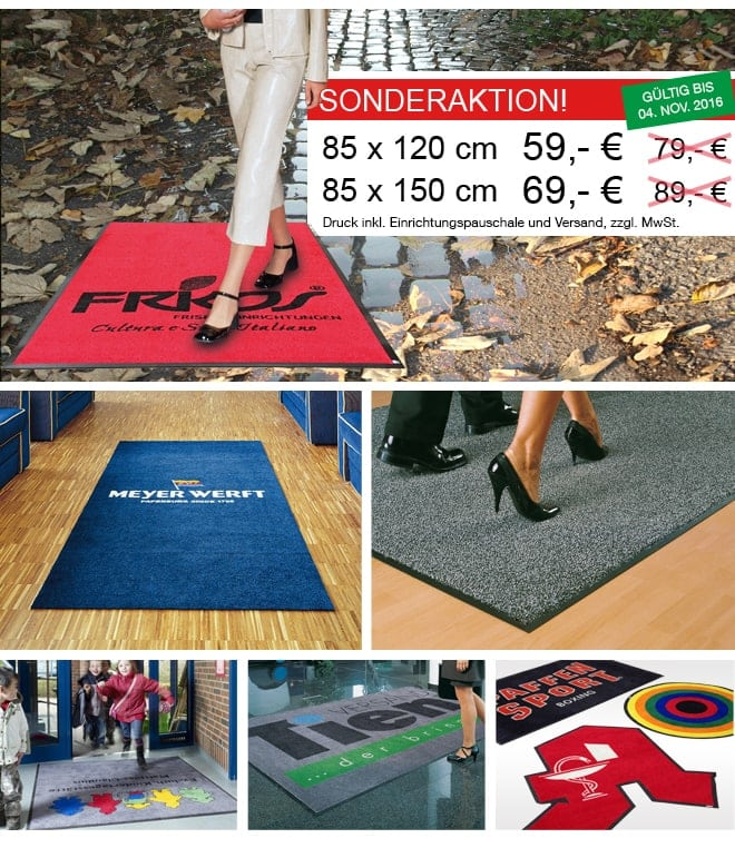 | Teppich Printer, Teppich Druck & Schmutzfang-Matten