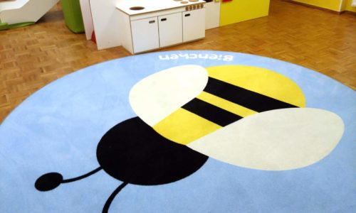 runder Teppich Kinder